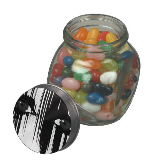 Hiding Behind The Pain Glass Candy Jar