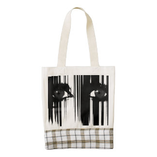 Hiding Behind The Pain Zazzle HEART Tote Bag