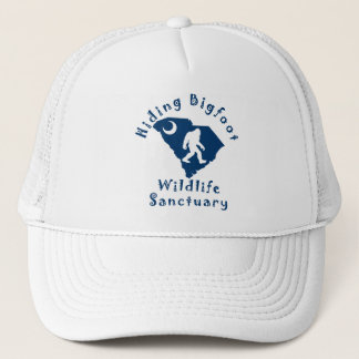 Hiding Bigfoot Wildlife Sanctuary Trucker Hat