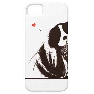 Hiding Dog  - iPhone SE + iPhone 5/5S Barely There iPhone SE/5/5s Case