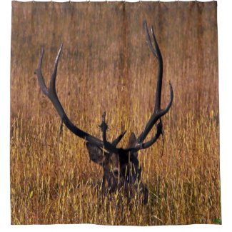 Hiding Elk Shower Curtian Shower Curtain