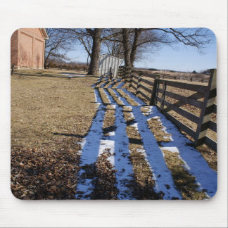 """""""Hiding from Spring"""" - Country Setting Mousepad"""