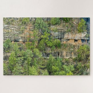 Hiding in Plain Site! Walnut Canyon Puzzle