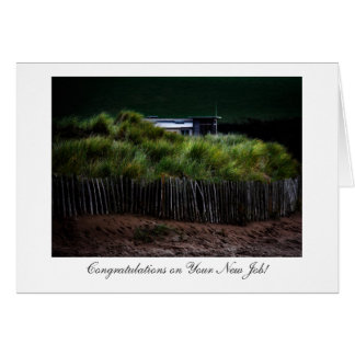 Hiding In The Dunes - Congratulations on New Job Card