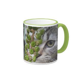 Hiding Kitten Mug