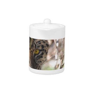 Hiding Leopard Teapot