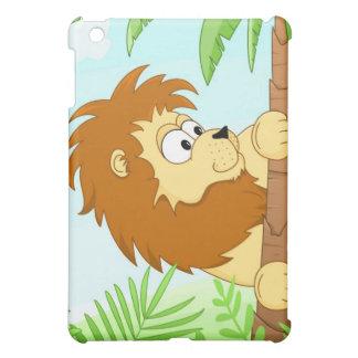Hiding lion iPad mini cases