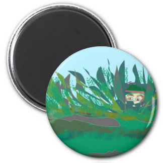 hiding-out 2 inch round magnet