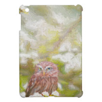 Hiding Owl - Painting Case For The iPad Mini