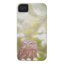 Hiding Owl - Painting iPhone 4 Case-Mate Case
