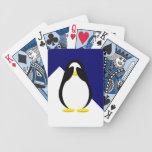Hiding Penguin Postage Card Decks