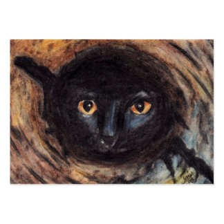 Hiding Place (Cat) ACEO Art Trading Cards Business Card Templates