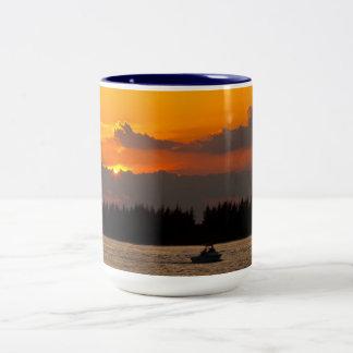 Hiding Sunset Mug