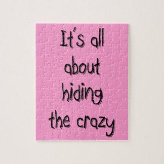 HIDING THE CRAZY JIGSAW PUZZLE