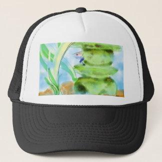 Hiding Trucker Hat