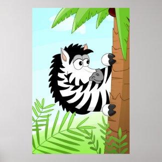 Hiding Zebra print