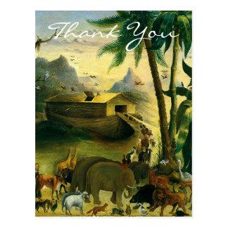 Hidleys Noah's Ark Post Card