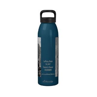 Hidración/botella de agua: Pico de La Plata