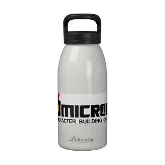 hidración de la botella de agua