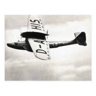Hidroavión 1935 de Dorneir Postales