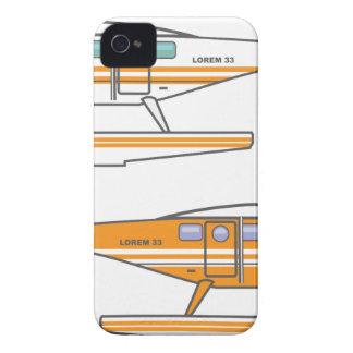 Hidroavión. Avión flotante. vector iPhone 4 Coberturas