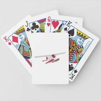 Hidroavión Baraja Cartas De Poker