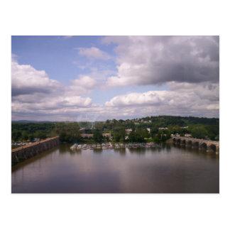 Hidroavión Base-Harrisburg PA Postales