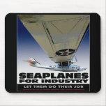 Hidroaviones para el cojín de ratón de la industri tapete de ratón