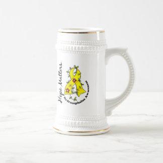 Hidrocefalia de las materias de la esperanza de la jarra de cerveza