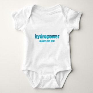 ¡Hidroelectricidad mojada! Camisetas infantil Remeras