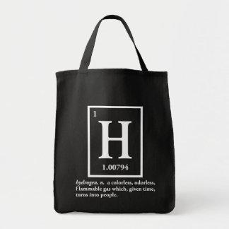hidrógeno - un gas que da vuelta en gente bolsas