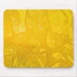 Hielo amarillo Mousepad Tapetes De Raton