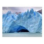 Hielo ártico de Naturescape del glaciar Postal