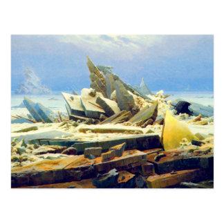 Hielo ártico postal