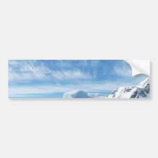 hielo azul polar s de la Antártida del iceberg Pegatina De Parachoque