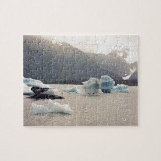 Hielo azul puzzles con fotos