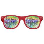 Hielo coloreado gafas de sol