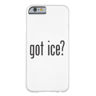 hielo conseguido funda para iPhone 6 barely there
