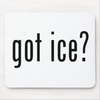 ¿hielo conseguido? tapetes de ratones