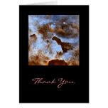 Hielo cósmico tarjeta de felicitación