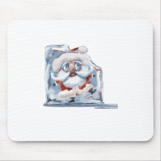 Hielo-Cubo Santa Mouse Pads