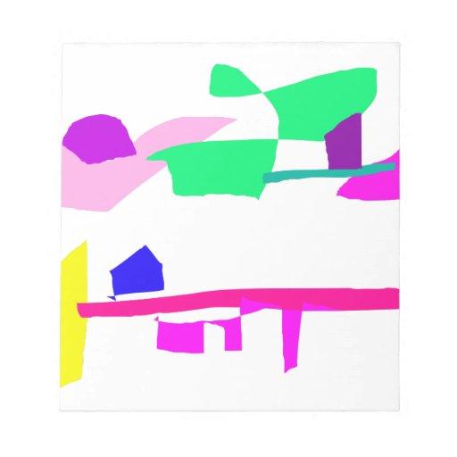 Hielo de deriva blocs de papel