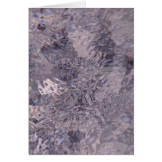 hielo de la lila tarjeta pequeña