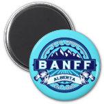 Hielo de la teja de Banff Imán Para Frigorífico