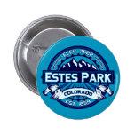 Hielo del botón del parque de Estes Pins