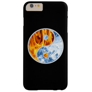 HIELO DEL FUEGO DE YIN-YANG FUNDA PARA iPhone 6 PLUS BARELY THERE