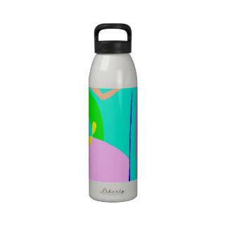 Hielo del vino del café de la cerveza de raíz del  botellas de agua reutilizables