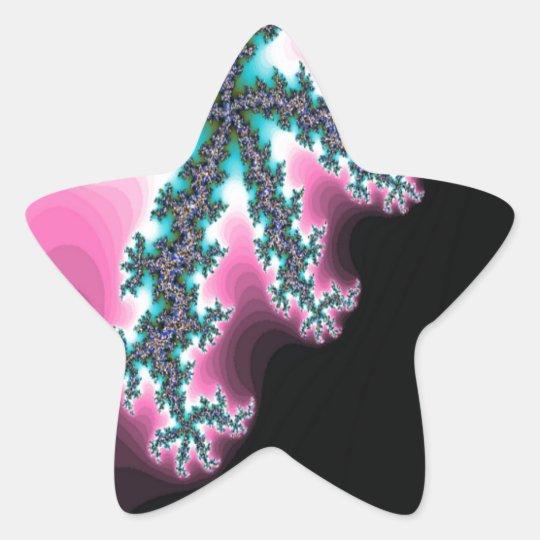 Hielo eléctrico pegatina en forma de estrella
