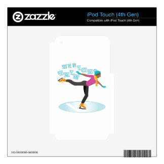 Hielo fino iPod touch 4G skins