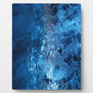 ¡Hielo - glacial - el sorprender Placas